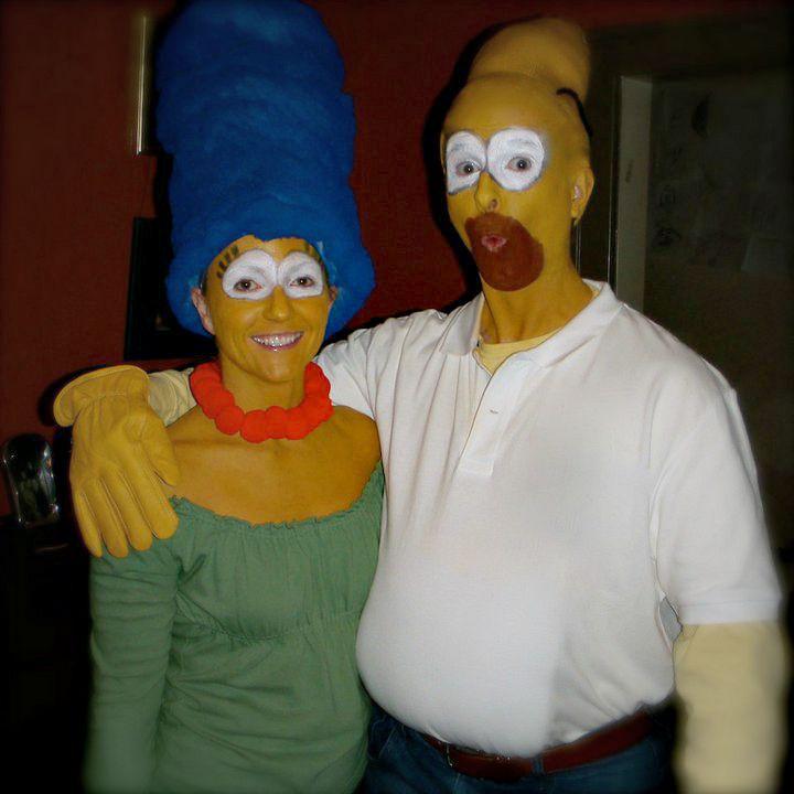 pb halloween simpsons - Simpson Halloween Costume