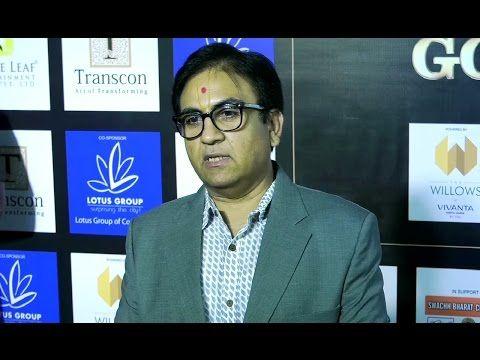 Dilip Joshi aka JETHALAL at Lions Gold Awards 2016.