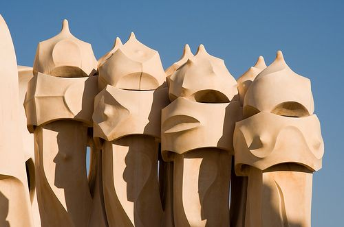 Gaudi's Casa Mila in Barcelona, Spain: Grace, Crazy Genius, Favorite Places, La Pedrera Casa, Pedrera Casa Mila, Barcelona Spain, Wide Inheritance