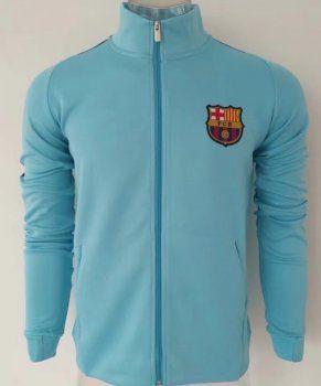 Barcelona 2017-18 FCB Blue Sweater Jacket [L321]
