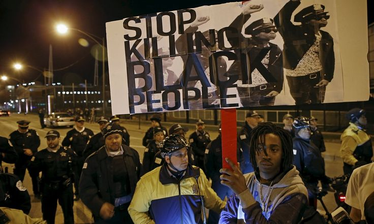 Final total of people killed by US police officers in 2015 shows rate of death for young black men was five times higher than white men of the same age