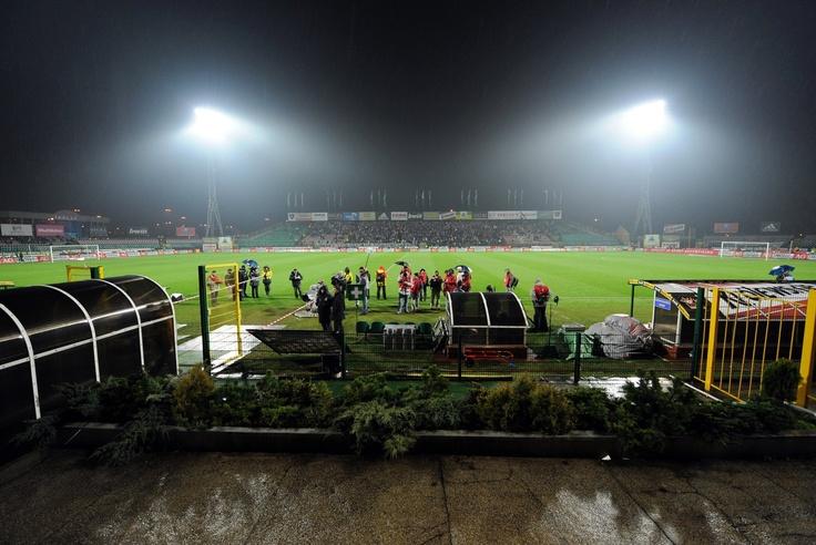 Widok na stadion z trybuny honorowej. Fot. Adam Polak