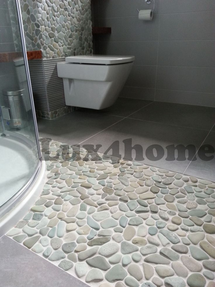 Green Pebble in Bathroom.  http://www.lux4home.com/products/pebble/