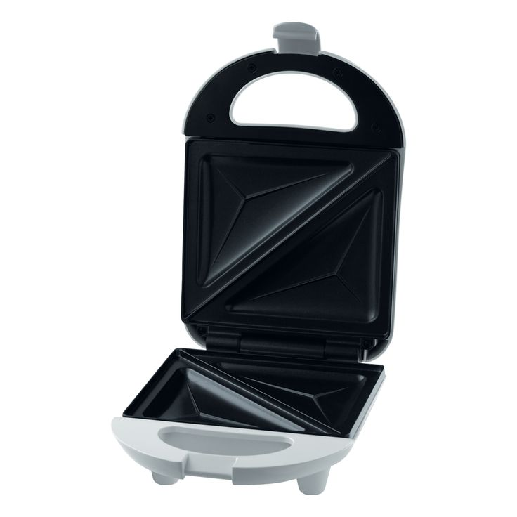 Sandwich Maker SSM 1100 - Easy to clean baking surfaces - Automatic temperature control - Heat insulated body and handle