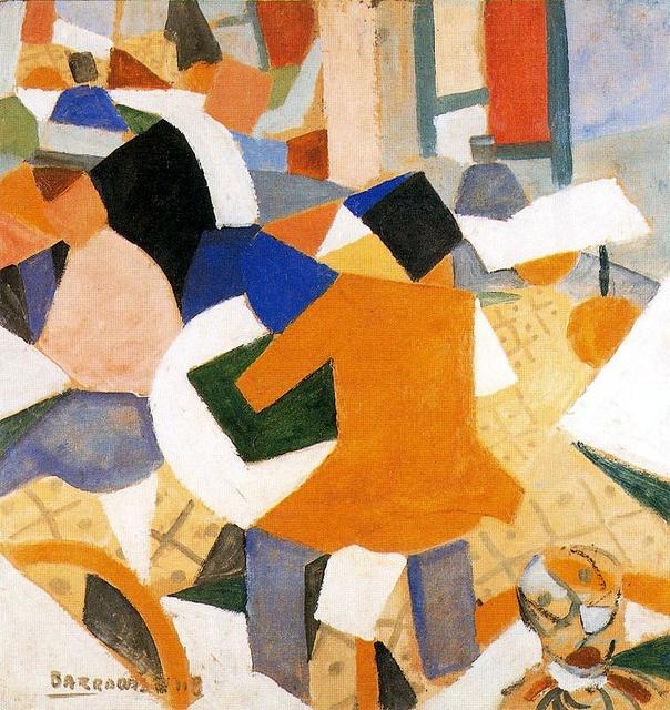 Barradas, Rafael (1890-1929) - 1918 Vibrationist Composition (Private Collection) by RasMarley, via Flickr