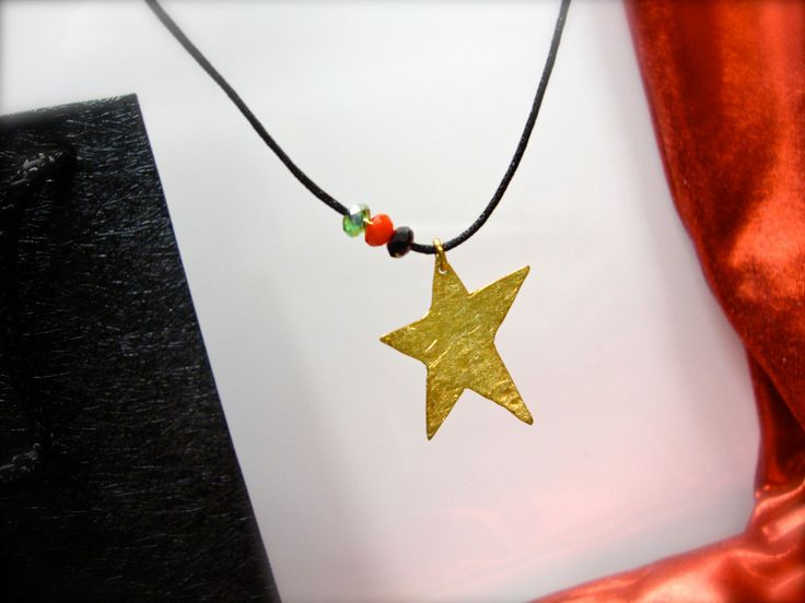 Christmas Time with sterling silver 925 handcrafted star pendant
