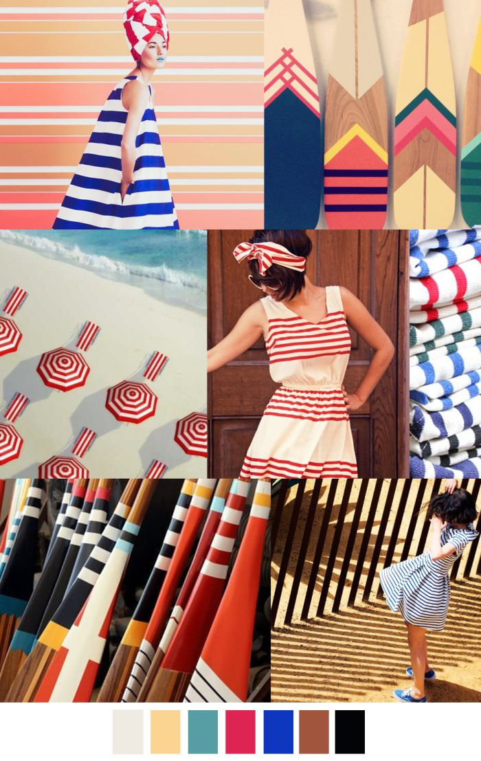 SEASIDE STRIPE - Summer 2017 Classic Stripes - Riviera - Summer