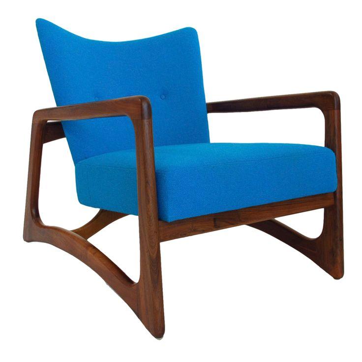 Adrian Pearsall Walnut Lounge Chair