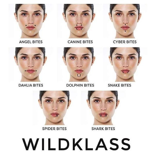 Getting your lips pierced? Let this be your guide! ➡️ www.wildklass.com  #Wildklass #Lippiercing #Infographic #piercings #bodypiercing #lips #piercing #wildklass #guide