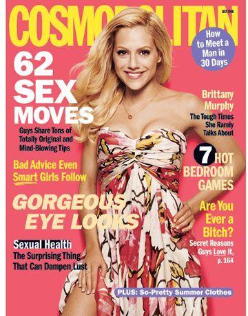 Brittany Murphy - Cosmopolitan Magazine [United States] (July 2006)