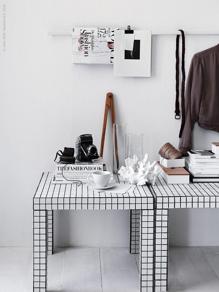 DIY LACK + mosaik | IKEA Sverige - Livet Hemma | Bloglovin'