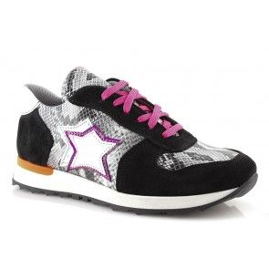 Sneakers donna con stelle