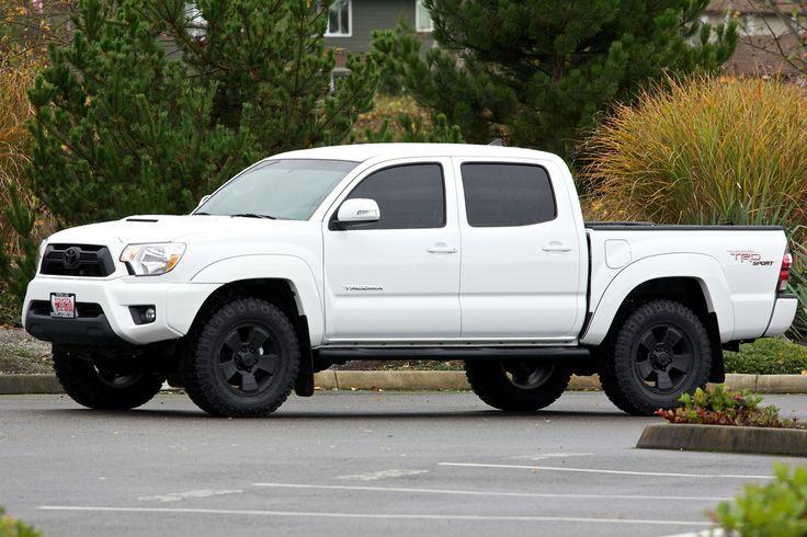New 2013 Tacoma DCSB Sport - Super White - Stock Truck Pron - BWW ...