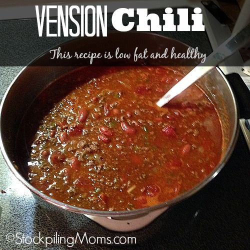 Venison Chili is a great low fat, healthy recipe! Great chili recipe for those cold evenings!