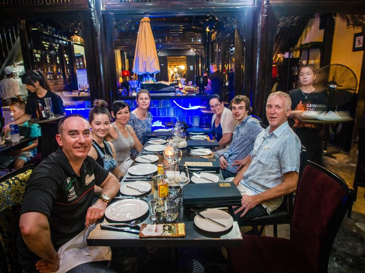 Good food and great friends... what more could one want. #VietnamSchoolTours #HoiAn