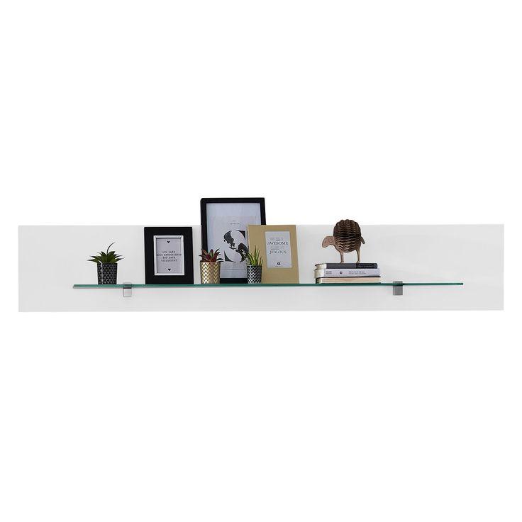 Wandboard Courban - Matt Weiß, loftscape Jetzt bestellen unter: https://moebel.ladendirekt.de/wohnzimmer/regale/?uid=aab360c0-e4d9-549c-94cb-de42306b8eed&utm_source=pinterest&utm_medium=pin&utm_campaign=boards #möbel #loftscape #wohnzimmer #regale