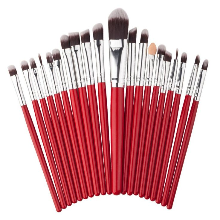 20pcs Makeup Brushes Set Eyeshadow Blending Brush Powder Foundation Eyeshadading Eyebrow Lip Eyeliner Brush Cosmetic Tool
