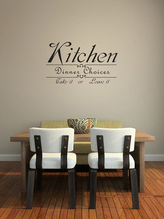 Wall Decal Sticker Quote Vinyl Art Large By WallStickersDecals, $15.99