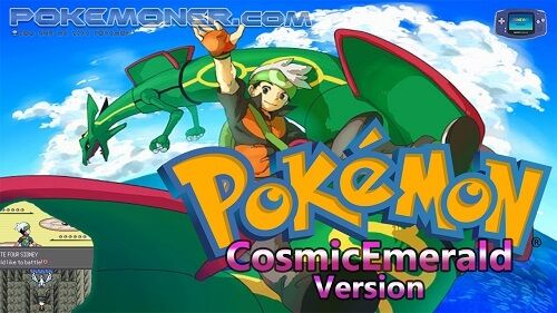 http://www.pokemoner.com/2017/08/pokemon-cosmicemerald.html Pokemon CosmicEmerald  Name: Pokemon CosmicEmerald Remake From: Pokemon Emerald Remake by: Sky0fBlades Description: This ROM hack does not alter the main story and it retains all the features the original Emerald has. However it adds several things to the mix to make it more fulfilling and fun to play. Remember those days when myths like going to the Moon after a certain number of rocket launches/weeks were a thing? Some things like…