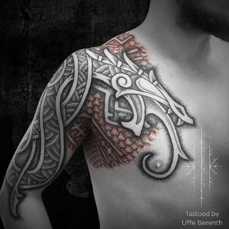 Viking Tribal Tattoos: 17 Best Images About Viking Tattoo On Pinterest
