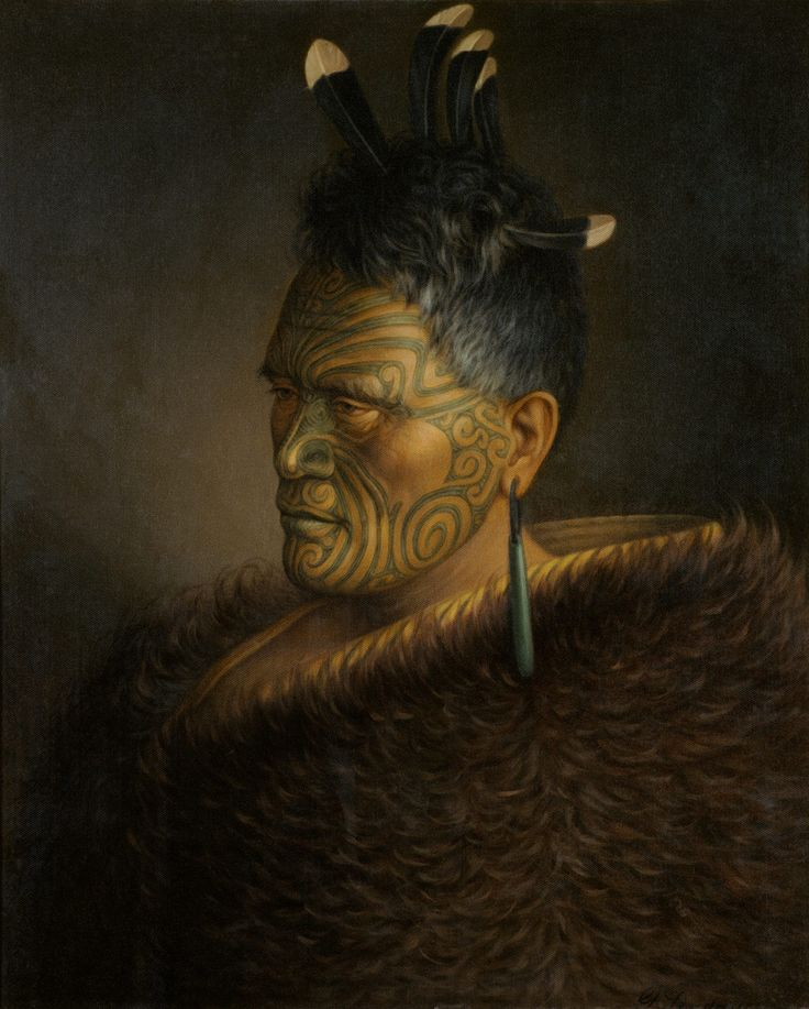 King Tawhiao Potatau Te Wherowhero, by Gottfried Lindauer