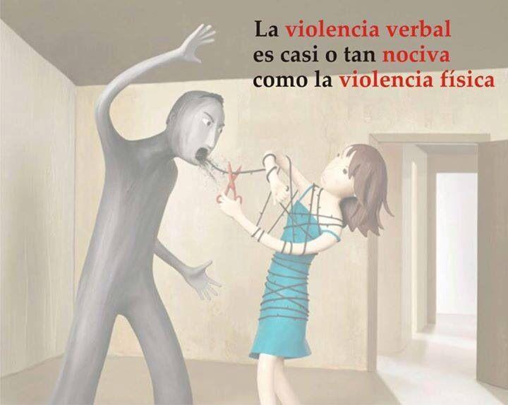 La violencia verbal