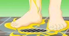 """""""Eles"""" nunca lhe dirão estes 4 motivos para você urinar nos pés durante o banho!"""