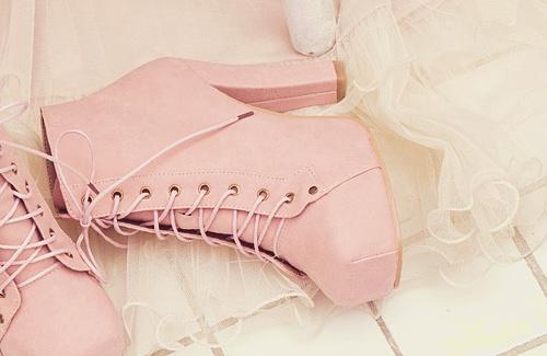 Bota rosa! / Pink boot ♥