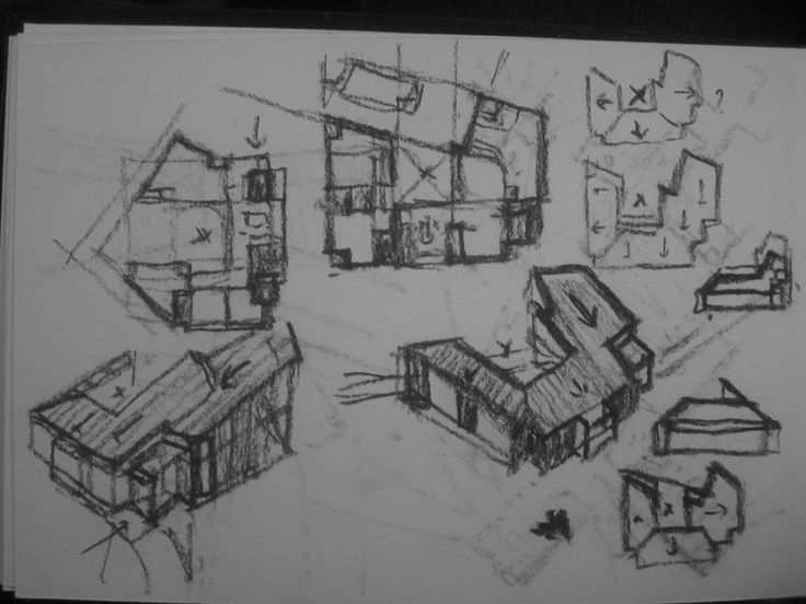 9 best images about architectural concept sketches on for Concept 8 architects