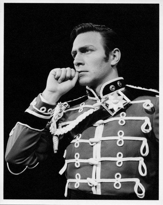 """christopher plummer as benedick in the royal shakespeare company's""""much ado about nothing""""c.1961"""