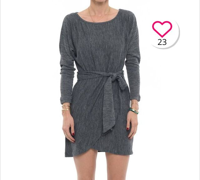 Anine Bing grey dress