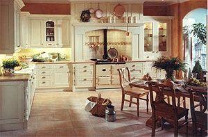 Engelse cottage keuken
