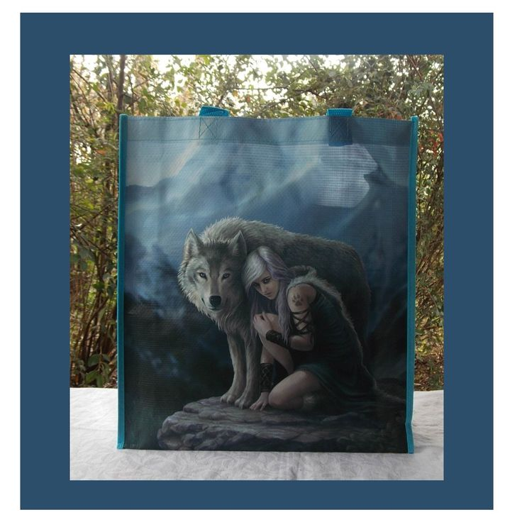 ANNE STOKES SHOPPING BAG THE PROTECTOR I COOL CAT COLLECTABLES