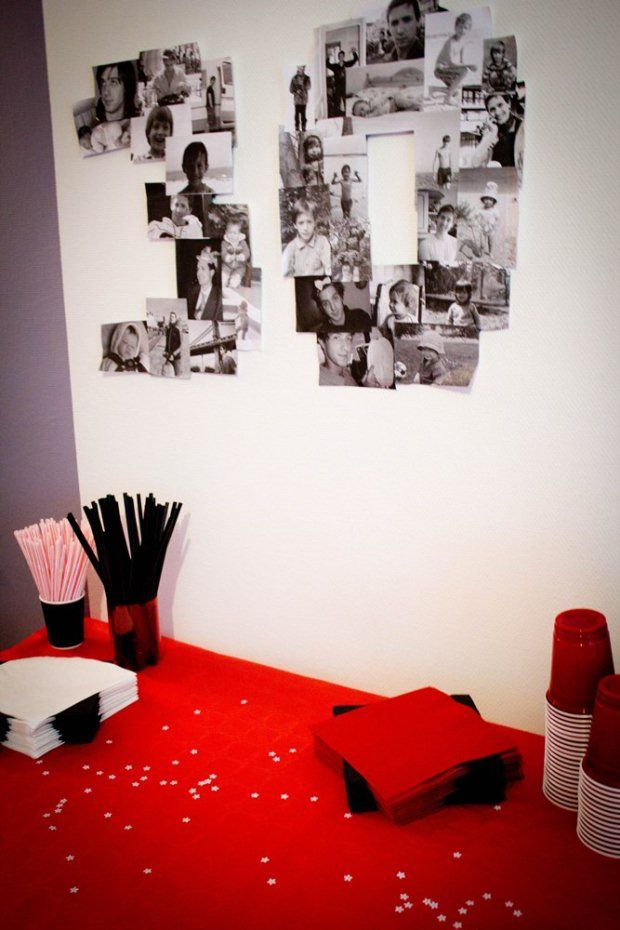 idée décoration salle anniversaire 30 ans - 3