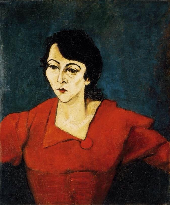 Lajos Tihanyi (né le 29 octobre 1885 à Budapest – mort le 11 juin 1938 à Paris) est un peintre hongrois membre du groupe des Huit.
