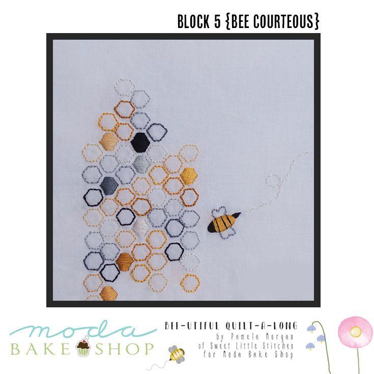 Bee-utiful QAL {Block 5 – Bee Courteous}