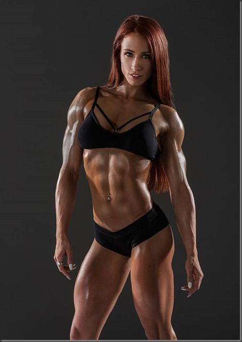 Pumpitup's Female Muscle: Marla Maria Merrithew | Lady Fit ...
