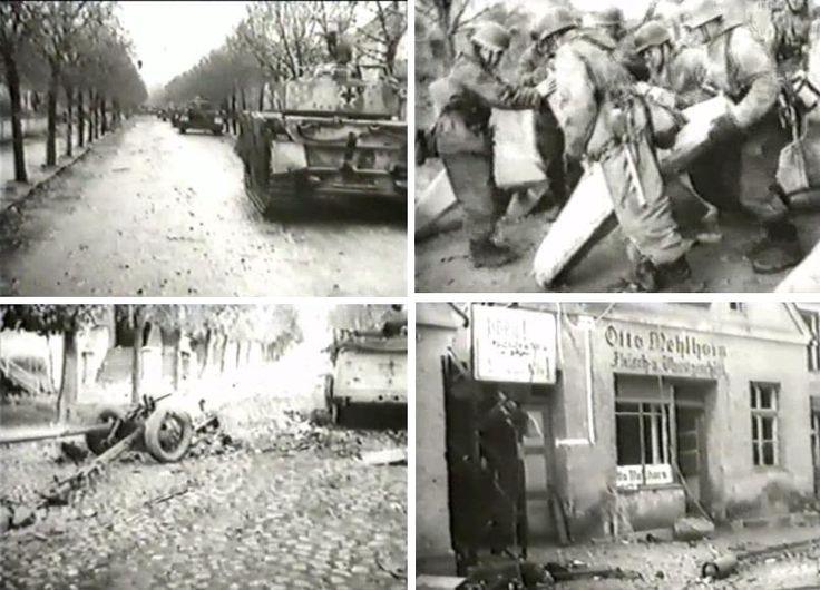 German newsreel Die Deutsche Wochenschau no. 741 November 16, 1944