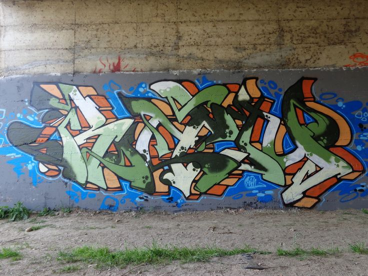 Ran.... #urbanwall #wall #spray