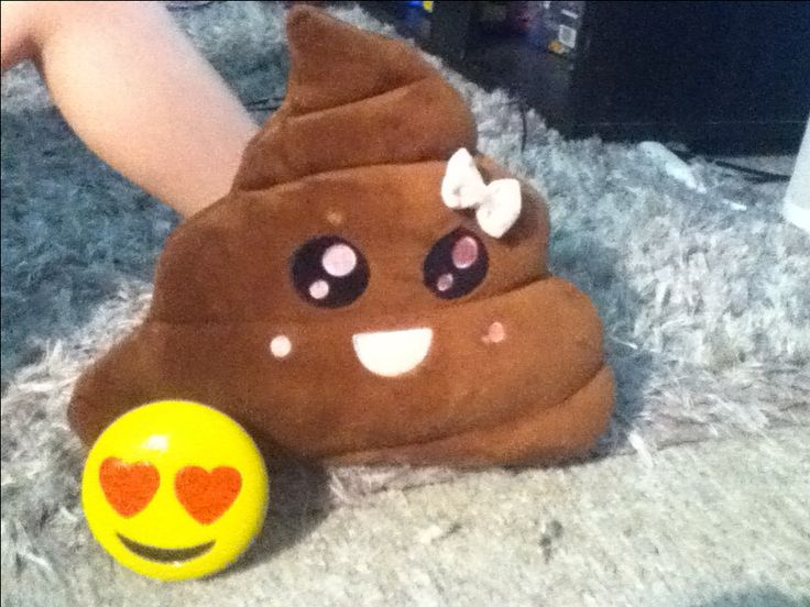 The poo emoji finds love with the heart face emoji and hopes she is the one. Eventually they will become a family and have a good life.