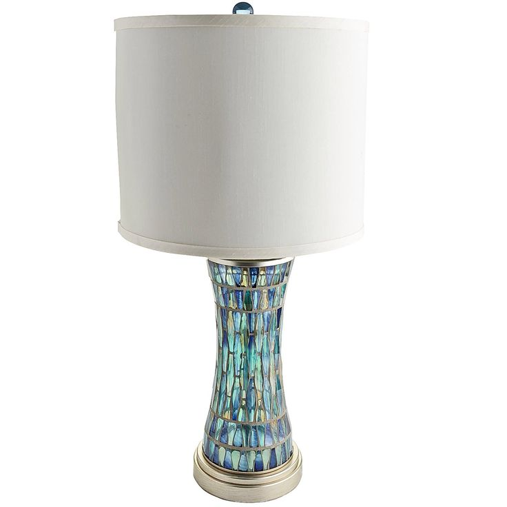 11 best mosaic lamps images on pinterest lamp bases for Dressing table lamp lighting