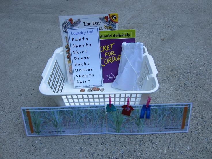 Homework basket ideas