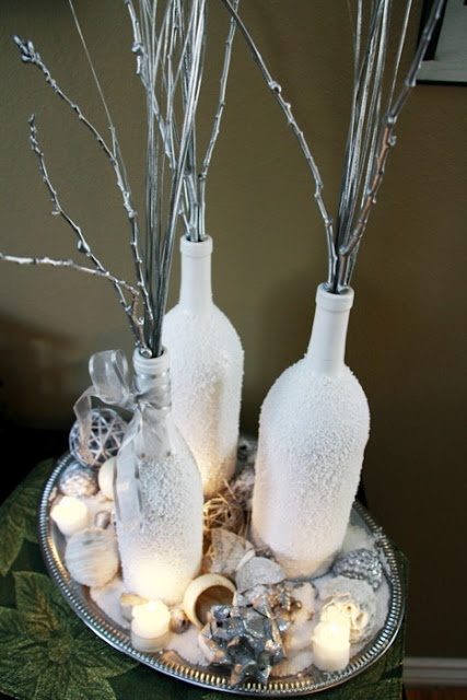 150 best mariage images on pinterest weddings table decorations project wine bottle centerpiece this is a cute project by my friend jessica strobel heres her post on how to do it yourself i love buying inexpensive solutioingenieria Images