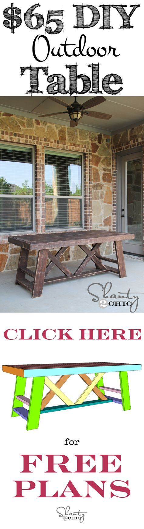 best 25 outdoor table plans ideas on pinterest patio tables