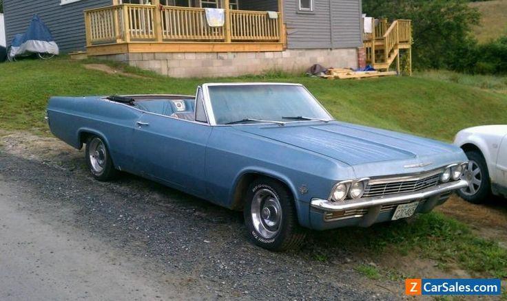 1965 Chevrolet Impala ss #chevrolet #impala #forsale #unitedstates