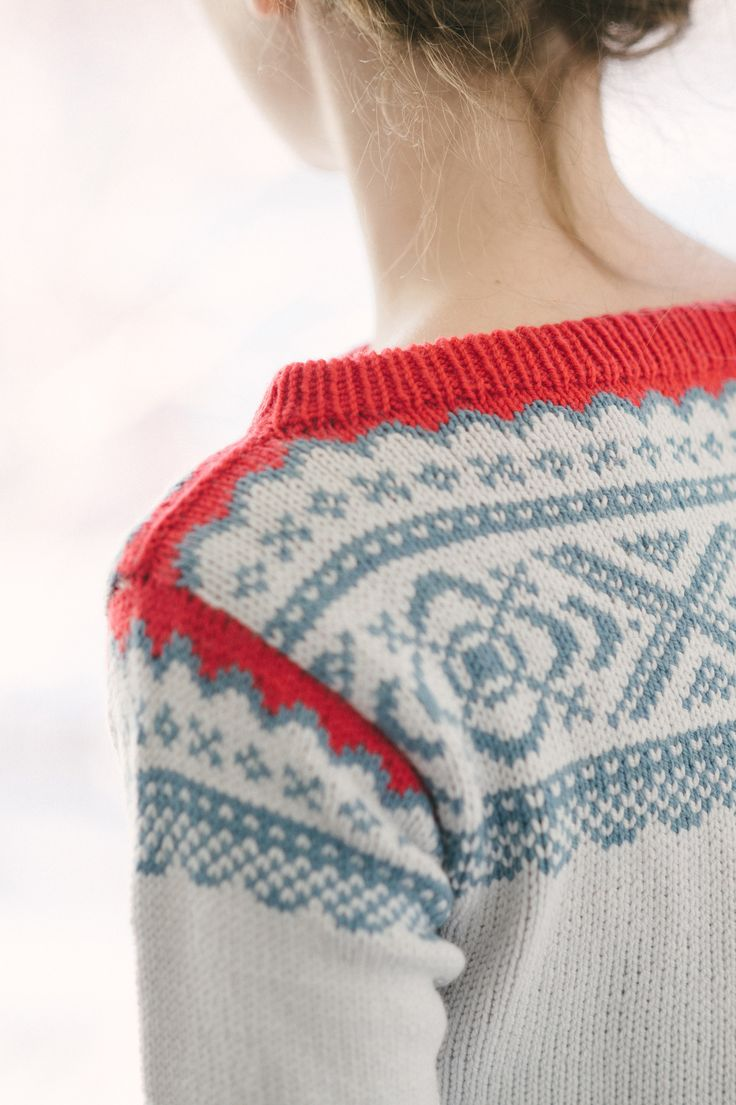 ebba pullover by dianna walla / in quince & co. chickadee