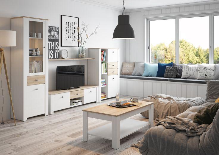 Idealne miejsce na odpoczynek? Salon z kolekcji Alice #meble #salon #zainspirujsie #inspiracja #szynaka #inspiration #livingroom