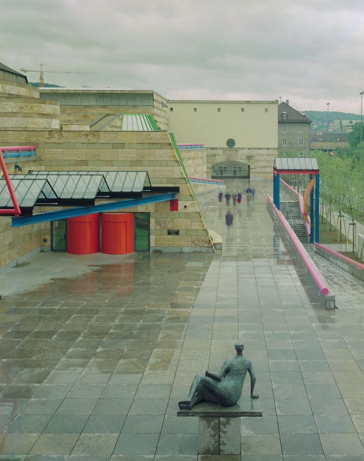 James Stirling   Neue Staatsgalerie   Stuttgart, Alemania   1977-1984