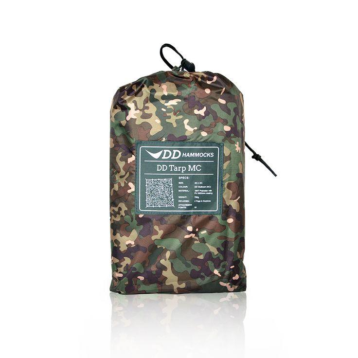 DD Tarp 3x3 Multi-Cam - packshot