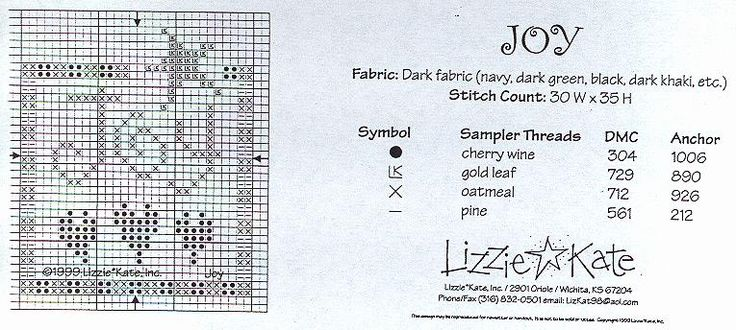Lizzie Kate Flip It Patterns | Free Charts